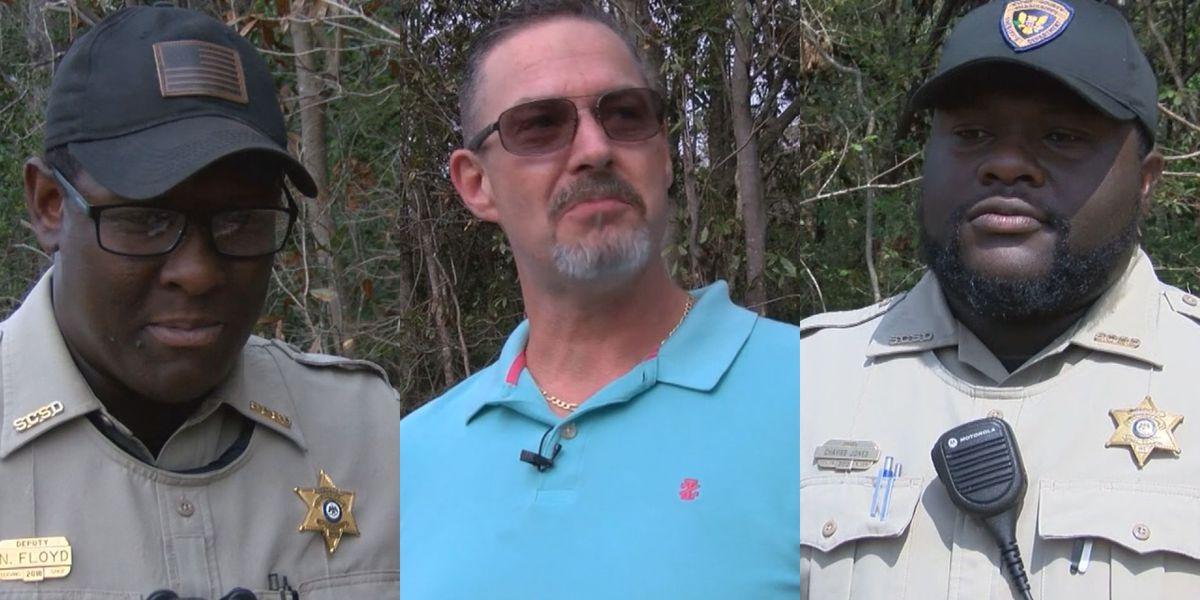 Hometown Heroes: Deputies, Good Samaritan risk their lives to save three children after fiery crash