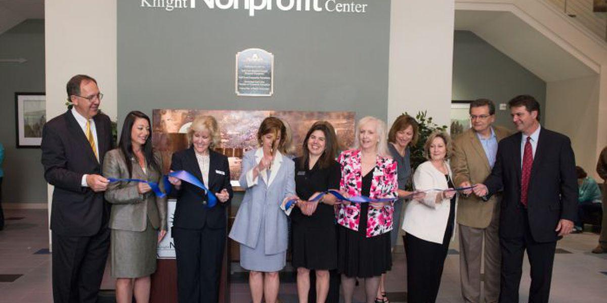 Building that houses nonprofits celebrates 5 years