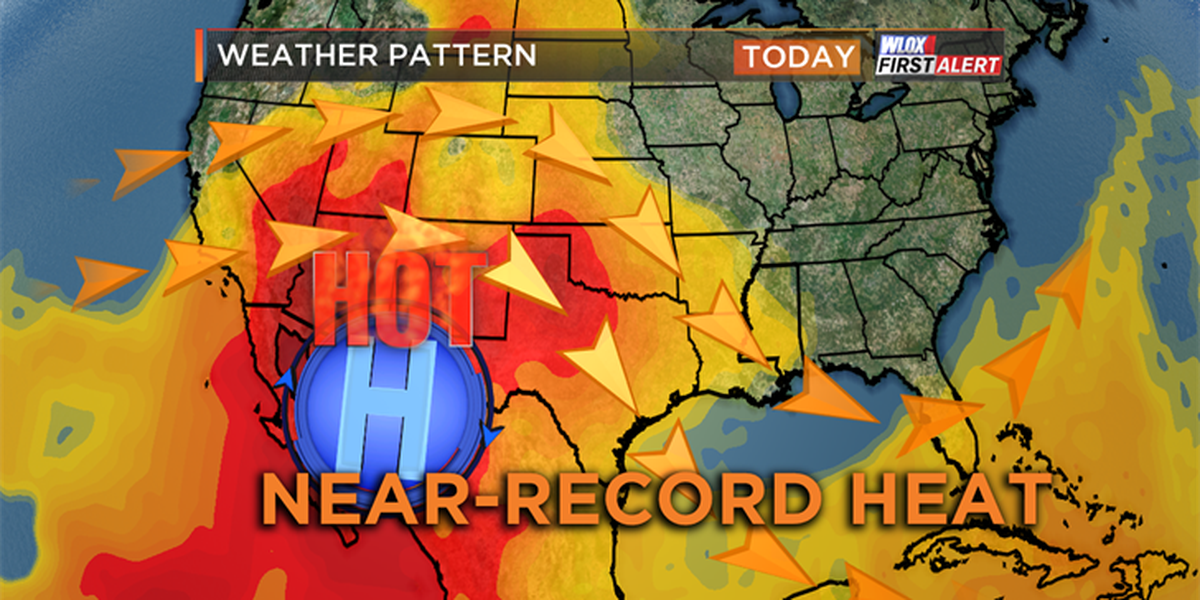 Near-record heat for early May