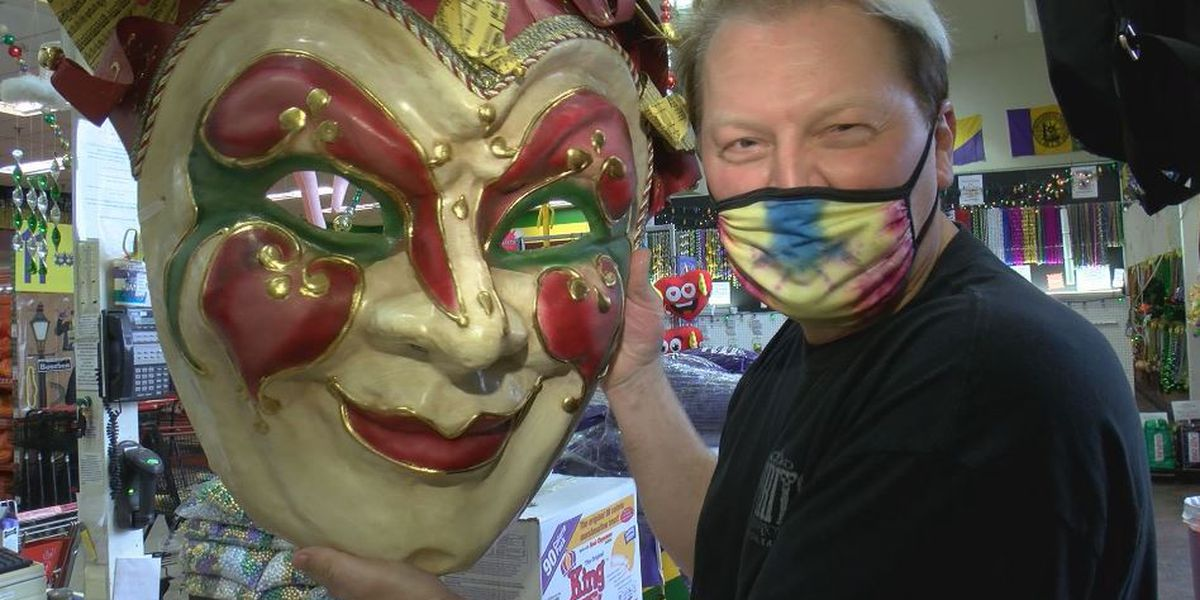 Mardi Gras store adjusting to different kind of business