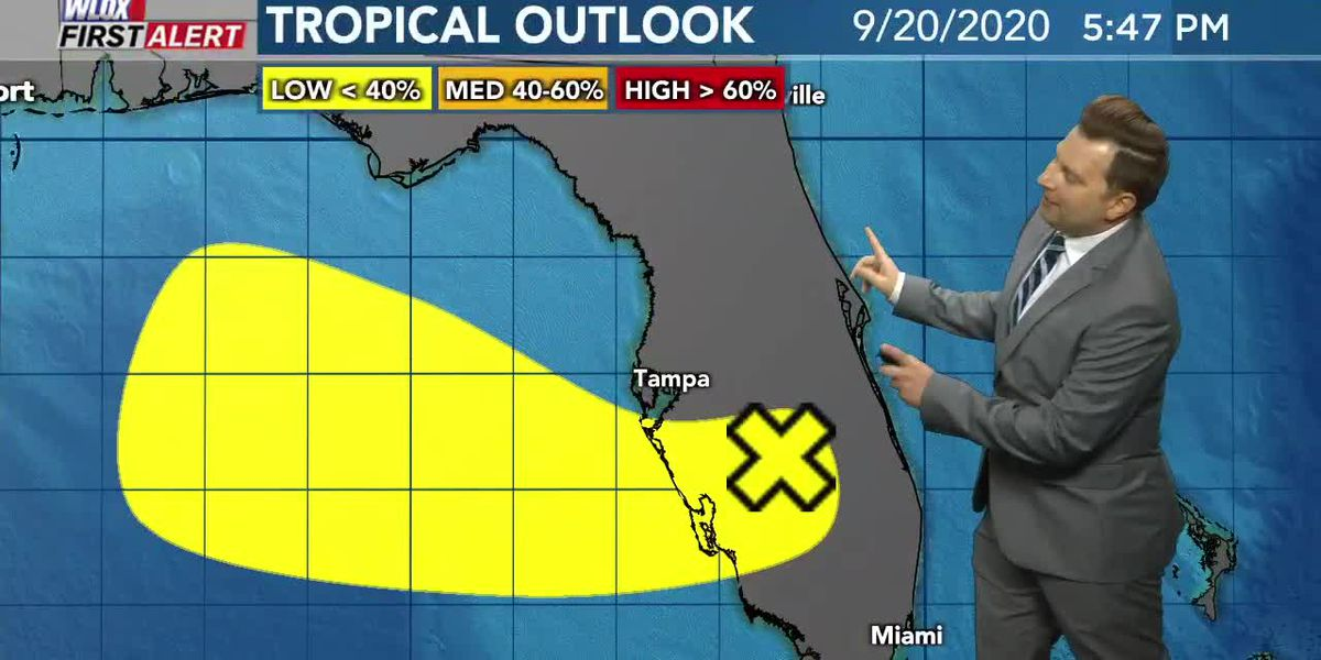 Beta could bring rain by mid-week; tracking another tropical wave in the Gulf